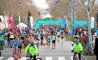 Puesta de gala del Maratón
