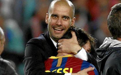Pep Guardiola ha vuelto a insistir en que Leo Messi acabará su carrera en Barcelona.