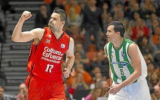 Valencia Basket 66-56 Real Betis: Falta un pívot urgentemente