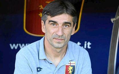 Juric, actual técnico del Genoa.