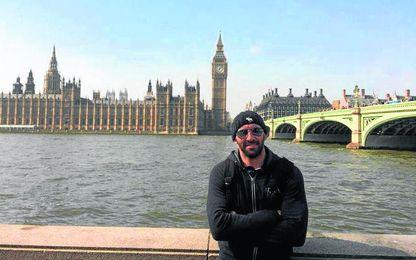 Monchi, en Londres, durante su estancia en tierras británicas para perfeccionar su inglés y estudiar cómo trabajan los clubes de la Premier.