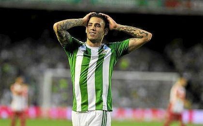 El club heliopolitano pagó a la Roma 7,5 millones de euros por la mitad del pase de Sanabria.