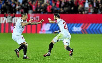 Nico Pareja aseguró un nuevo triunfo ante el Valencia con un tanto en el minuto 75.