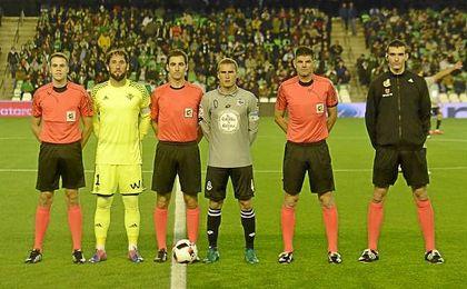 Debut copero del Betis en la Copa 16/17.
