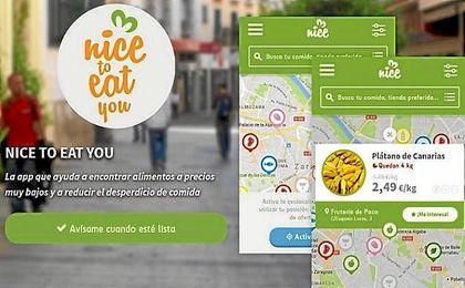 ´Nice To Eat You´, la app para reducir el desperdicio de alimentos.