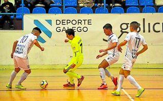 O Parrulo 8-2 Betis Futsal: Derrota en la final de Ferrol