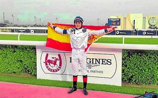 Melgarejo, mejor jockey amateur del mundo