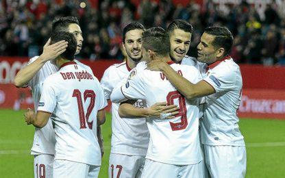 El Sevilla ha completado un gran inicio de campaña.