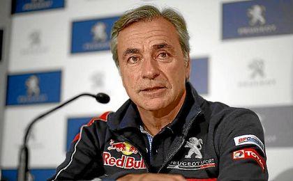 Carlos Sainz habla de la próxima edición del Dakar.
