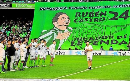 ´Pichichi´ histórico del Betis desde 2015, Rubén sumó en 2016 su partido 500 entre Primera y Segunda, no se perdió ni una jornada liguera y en 2017 busca ser máximo goleador en la elite.