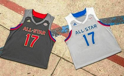 Camisetas para el ´All Star´ 2017.