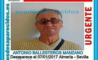 La Policía busca al desaparecido en el tren Almería-Sevilla tras bajarse en San Bernardo