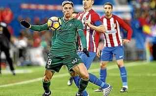 El Atlético, con lo justo