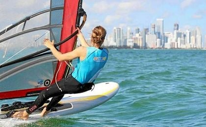 Marina Alabau, plata en RS:X en la World Cup Series de Miami