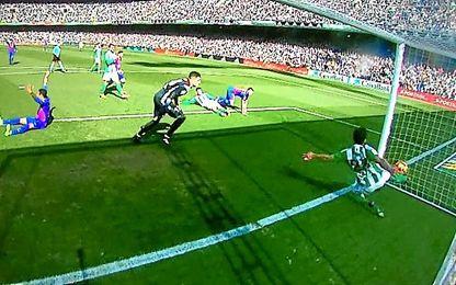 El gol fantasma que sí entró.