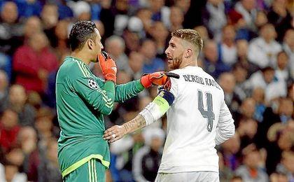 """Keylor Navas: """"He visto a Ramos cantar el himno del Sevilla, le tiene mucho aprecio"""""""