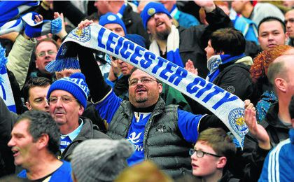Los de Ranieri esperan contar con el apoyo de más de 2.000 aficionados en el Sánchez Pizjuán. ED.