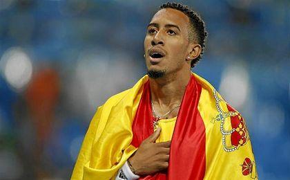 Orlando Ortega consigue la medalla de plata en la final de 110 metros vallas de los Juegos Olímpicos de Río de Janeiro.