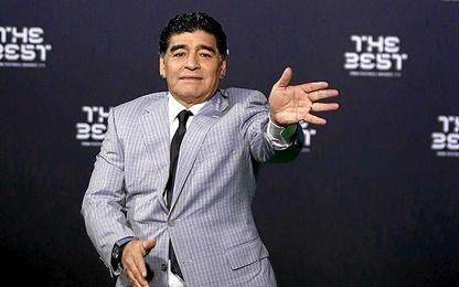 Maradona siempre da que hablar.