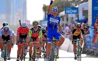 Marcel Kittel (Quick-Step) se adjudica el Tour de Dubai.