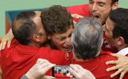 Carreño cierra la remontada y España pasa a cuartos