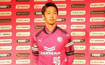 Kiyotake ya posa como jugador del Cerezo Osaka