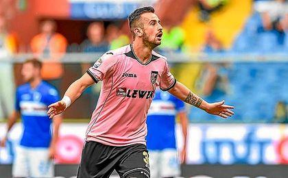 Nestorovski está cuajando una buena temporada en el Palermo.