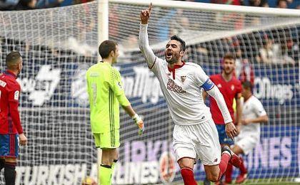 La última victoria por la mínima fue contra Osasuna.