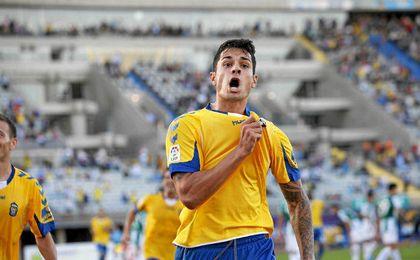 Vitolo ha recordado en Twitter su paso por Las Palmas.