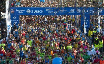 El maratón de Sevilla bate récord de participación y apuesta por obtener la categoría 'Oro'