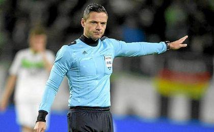 El esloveno Skomina pitará el Real Madrid-Nápoles