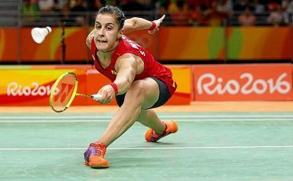 Carolina Marín encabeza el equipo mixto español en el Europeo