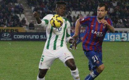 El Córdoba sólo ganó tres veces de veintidós en sus visitas al Ciudad de Valencia