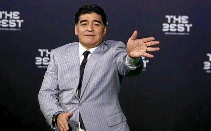 """Maradona: """"No hay ninguna denuncia... que lo cuenten como quieran"""""""