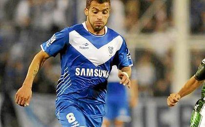 Canteros, jugador de Vélez.