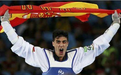 El taekwondista español, Joel González.