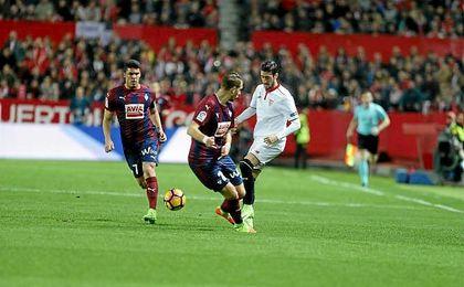 Escudero regresó a la titularidad después de su lesión