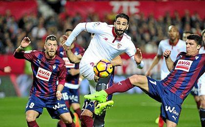 Rami acabó haciendo un gran partido ante el Eibar.