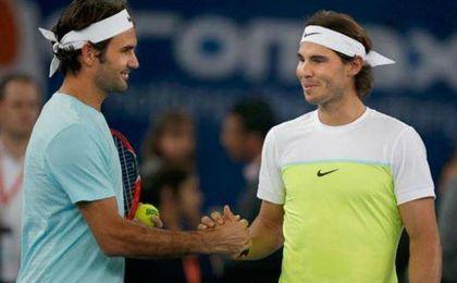 """Federer: """"Me encantaría jugar con Nadal en dobles"""""""