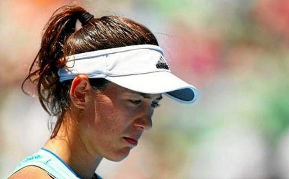 Garbiñe Muguruza abandona el torneo de Dubai