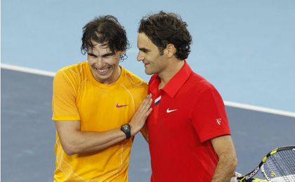 Rafa Nadal y Federer, posible pareja de dobles