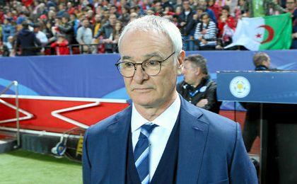 Claudio Ranieri, técnico del Leicester.