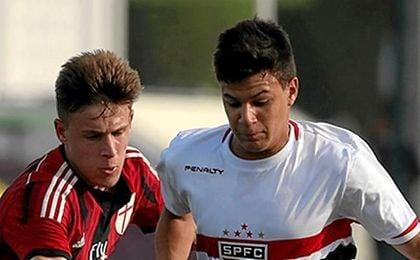 Augusto Galván tiene 17 años.