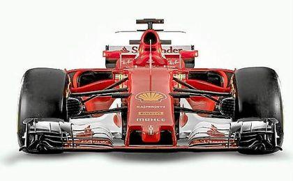 Nuevo monoplaza de Ferrari para 2017.