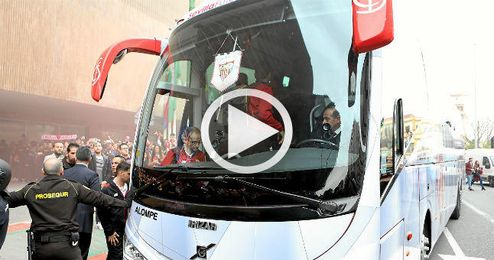 Así recibieron al Sevilla tras ganar el derbi