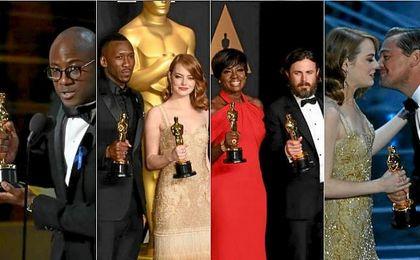 Todos los triunfadores de la noche de los Oscars