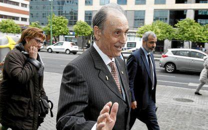 Ruiz de Lopera, en una de sus comparecencias en los Juzgados de Sevilla.