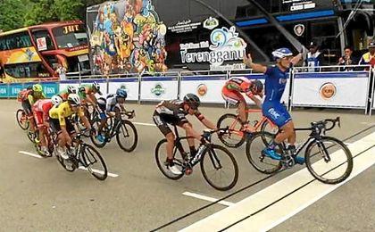 Gibbons se proclama vencedor final del Tour de Langkawi