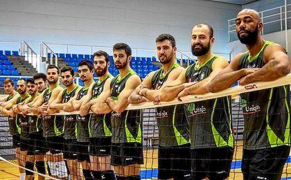 El Unicaja de voleibol se vuelca con la U.D. Almería