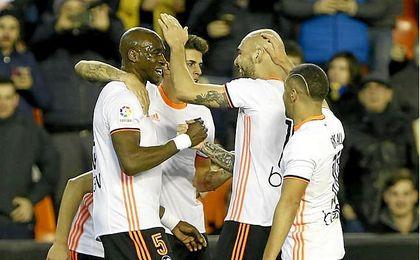 El Valencia C.F. encadena su tercera victoria consecutiva como local.